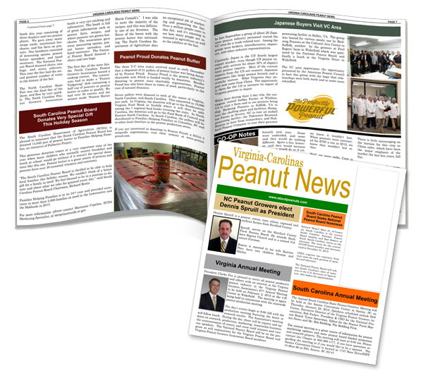 Peanut News spread